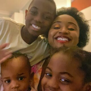 This photo was taken few minutes ago and somehow I was able to just capture us all in one go (my special Mother's Day gift 🤗😆). Not the best quality but I love my bunch to bits. Happy Mother's Day to all you beautiful mamas, it's not easy but you are doing a great job.  . . #happymoment #happymothersday