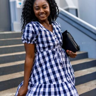 GRACE & GINGHAM on Tuesday. . I received so many compliments with this pretty one @orange_sherbet CAMPBELL DRESS. This dress is perfect  all season round. You are able to layer it. I wore it with a jacket the other day.  . Hope you are having a great week so far. Sending love and light   .* @orange_sherbet offers free returns and exchange too🤗  . #orangesherbet  #ginghamdress #australianfashion #brisbaneblogger #prettydress #australianfashionblogger #ginghamstyle #sonishstyle #qldfashion